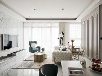 富裕型80平米北欧风格客厅设计图
