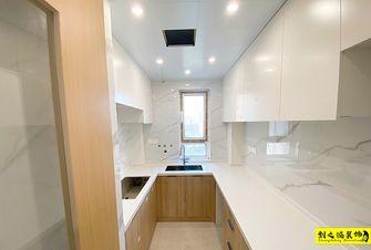 5-10万90平米日式风格厨房图