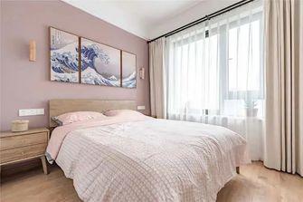 10-15万90平米三室一厅日式风格卧室图片大全
