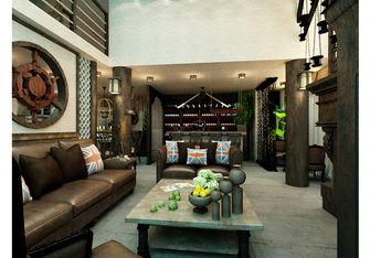 富裕型140平米复式公装风格客厅效果图