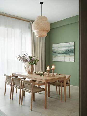 120平米四室三厅现代简约风格餐厅效果图