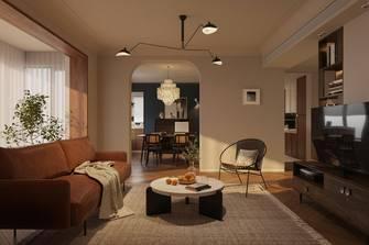 90平米法式风格客厅图片大全