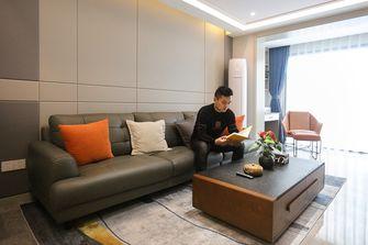 富裕型80平米公寓现代简约风格客厅效果图