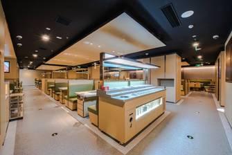豪华型140平米公装风格餐厅装修图片大全