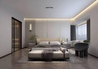 90平米公寓现代简约风格卧室装修案例