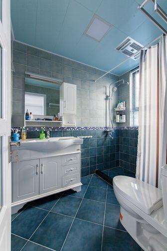 50平米一居室现代简约风格卫生间图片