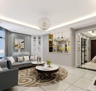 20万以上140平米三室两厅欧式风格客厅装修案例
