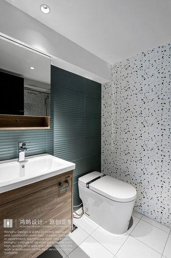 20万以上140平米复式现代简约风格卫生间装修图片大全