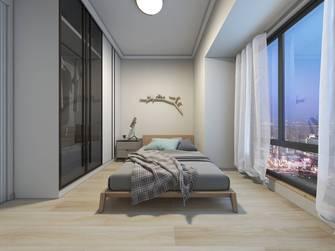 富裕型110平米三室两厅欧式风格卧室图片大全