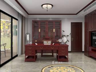 经济型140平米四室四厅中式风格书房设计图