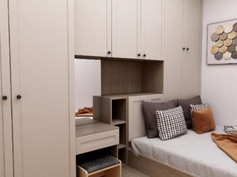 经济型100平米四室一厅中式风格卧室欣赏图