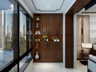120平米三室两厅中式风格阳台装修效果图