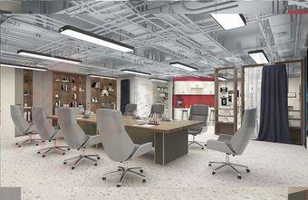 10-15万80平米公装风格客厅装修图片大全