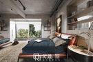 富裕型130平米三室两厅工业风风格卧室效果图