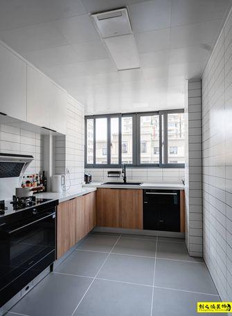 10-15万110平米三室一厅日式风格厨房装修效果图