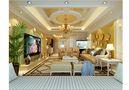富裕型130平米欧式风格客厅设计图