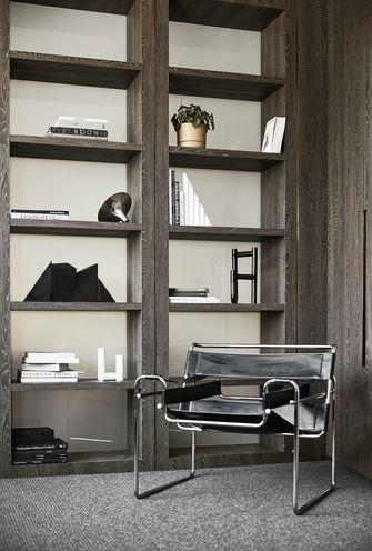 豪华型140平米别墅现代简约风格书房图片大全