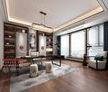 豪华型140平米别墅中式风格书房图