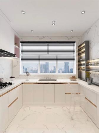富裕型140平米四室两厅法式风格厨房设计图