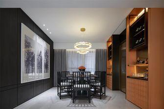 20万以上120平米三室一厅中式风格餐厅装修效果图