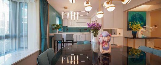经济型140平米公寓轻奢风格餐厅欣赏图