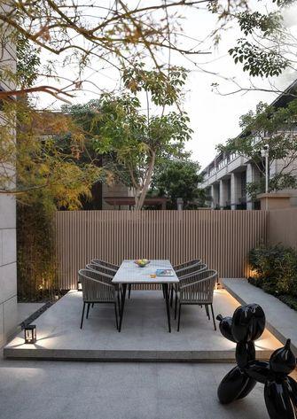 豪华型140平米三室两厅轻奢风格阳台效果图