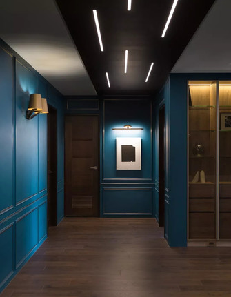 经济型120平米三室两厅混搭风格玄关装修图片大全