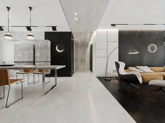 5-10万90平米三室两厅混搭风格玄关图