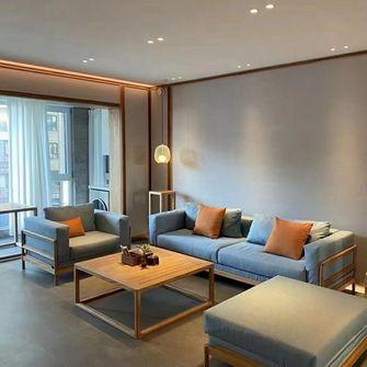 90平米三中式风格客厅装修图片大全