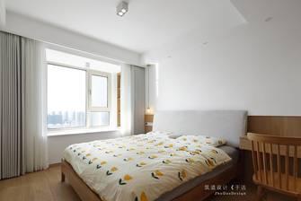 豪华型100平米三室三厅日式风格卧室图片