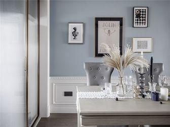 富裕型110平米三室两厅美式风格餐厅欣赏图