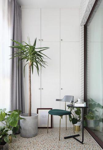 120平米三室一厅轻奢风格阳台设计图