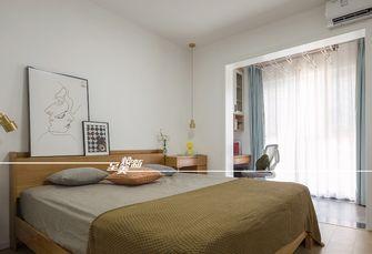 10-15万90平米北欧风格卧室装修案例