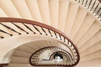 豪华型140平米别墅美式风格楼梯间图片大全