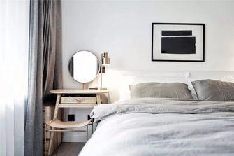 经济型80平米一室一厅北欧风格卧室图片大全