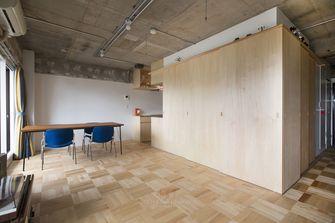 80平米一居室工业风风格客厅图