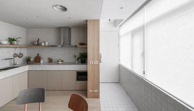 富裕型80平米三现代简约风格厨房效果图