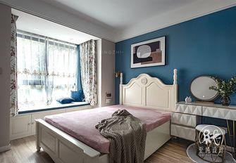 富裕型60平米一室一厅现代简约风格卧室装修图片大全