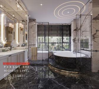 豪华型140平米别墅美式风格卫生间装修案例