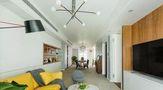 富裕型140平米三欧式风格客厅设计图