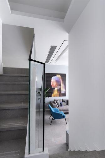 80平米现代简约风格楼梯间图片大全