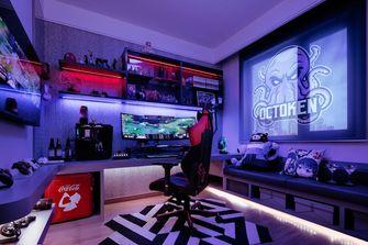 富裕型80平米混搭风格影音室欣赏图