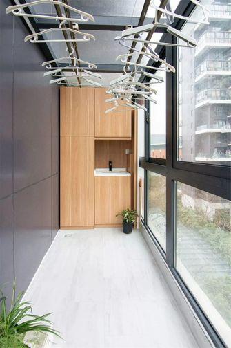 3万以下30平米小户型轻奢风格阳台装修案例