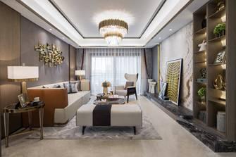富裕型130平米四室一厅现代简约风格客厅欣赏图