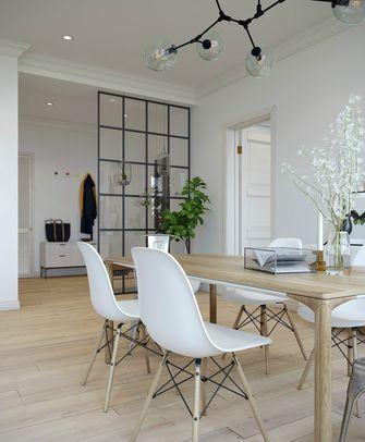 10-15万70平米一室两厅北欧风格餐厅图片