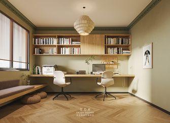 15-20万130平米三室两厅混搭风格书房图片