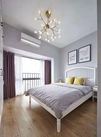100平米三室一厅北欧风格卧室效果图