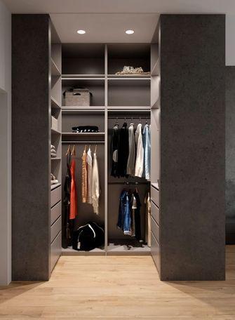 140平米三室一厅现代简约风格衣帽间图