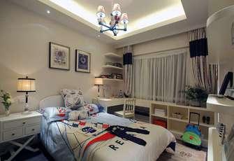 110平米地中海风格卧室装修案例