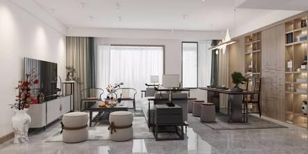 3万以下140平米三室两厅中式风格客厅效果图